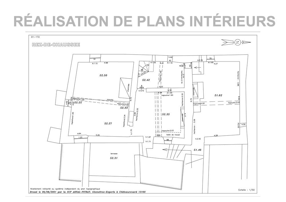 Plans Edites Par Votre Geometre Expert
